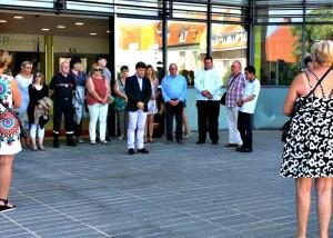 Hommage aux victimes de l'attentat à Nice juillet 2016