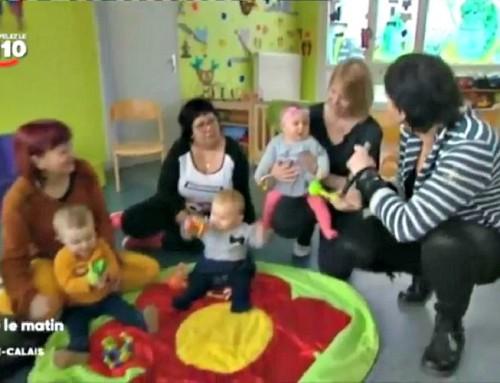 Nos crèches bilingues ont fait l'objet d'un reportage télévisé sur France 3 Région