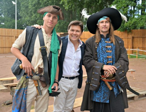 Un fort de pirates sort de terre au parc du Fort-Louis