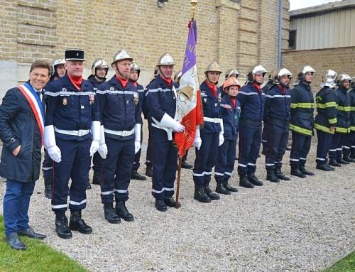 Bonne fête de Sainte Barbe à tous les pompiers