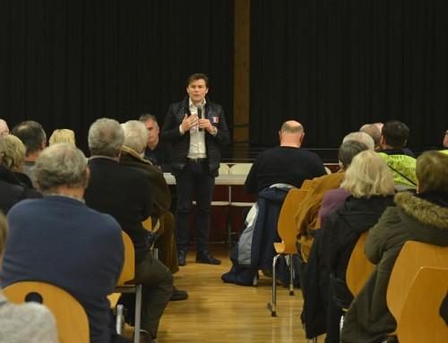 Plus de 100 personnes et 2h30 de débat de qualité