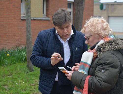 Balade urbaine du Petit Steendam : le maire à votre porte !