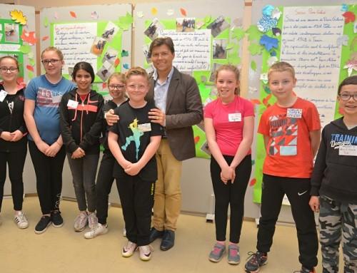 Une belle exposition des élèves de l'école Brassens en partenariat avec le FRAC